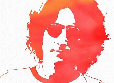 Lennon Print by Dan Sproul