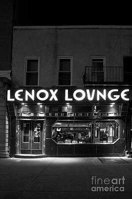 Lenox Lounge_175 Print by Andria Patino