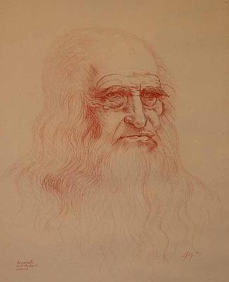 Leo Print by Robert May