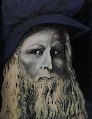 Leonardo Da Vince Original by Ginny  Lei