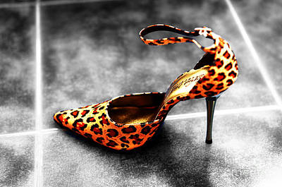 Fashion For Sale Photograph - Leopard Fusion by John Rizzuto