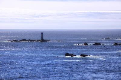 Les Hanois Lighthouse - Guernsey Print by Joana Kruse