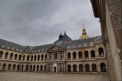 Cards Photograph - Les Invalides - Paris France - 01139 by DC Photographer