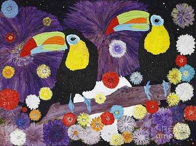 Les Toucans Original by Nathalie Sorensson