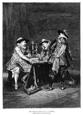 Lesrel Chess, 1895 Print by Granger