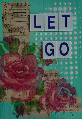 Let Go Print by Gillian Pearce