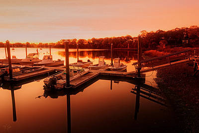 Yacht Photograph - Let It Shine by Lourry Legarde