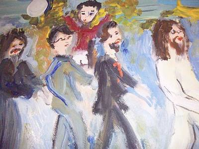 Abbey Road Painting - Let Me Take You There by Judith Desrosiers