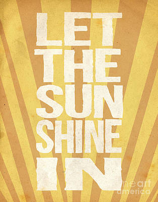 Let The Sunshine In Print by Pati Photography