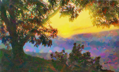 Sun Rays Digital Art - Let There Be Light by Anthony Caruso
