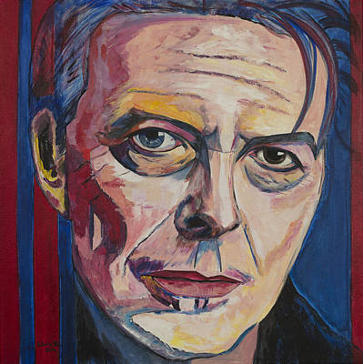 David Bowie Painting - Lets Dance by Christel  Roelandt
