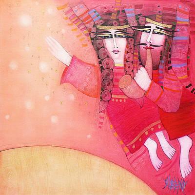 Painting - Let's Go by Albena Vatcheva