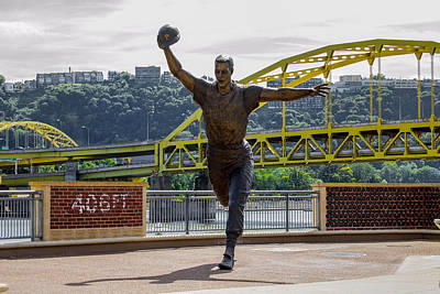 Mazeroski Photograph - Lets Go Bucs by Anthony Thomas