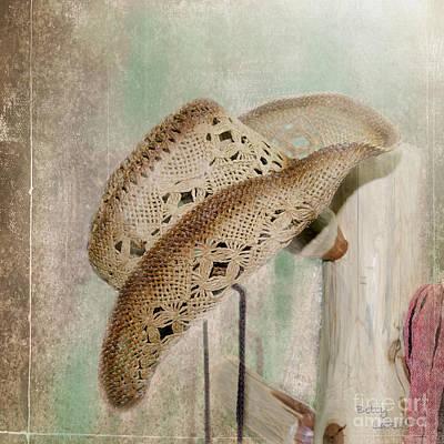 Cowboy Hat Photograph - Let's Talk Western by Betty LaRue