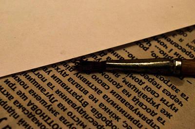 Letter Original by Yarema Semaniv