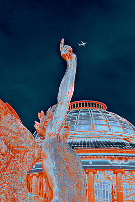 Letting Fly Print by Menega Sabidussi