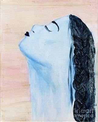 Portrait Painting - Letting Go by Julia Stubbe