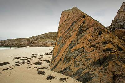Grey Clouds Photograph - Lewisian Gneiss by Ashley Cooper
