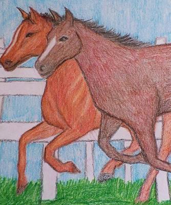 Lexington Drawing - Lexington  by Christy Saunders Church