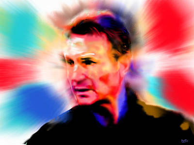 Buy Digital Art - Liam Neeson by Marcello Cicchini