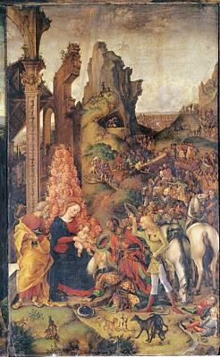 Liberale Da Verona, Adoration Print by Everett