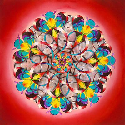 Liberation Mandala Original by Vikki Reed