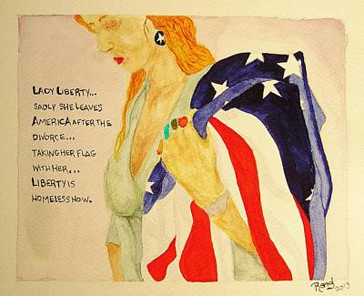 The Divorce Of Liberty Original by Rand Swift