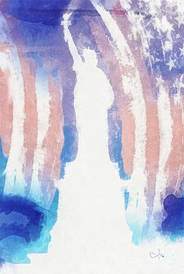 Liberty Print by Mo T