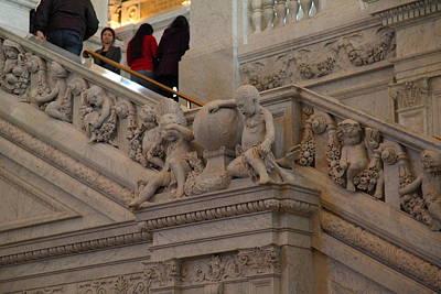 Corridor Photograph - Library Of Congress - Washington Dc - 011313 by DC Photographer