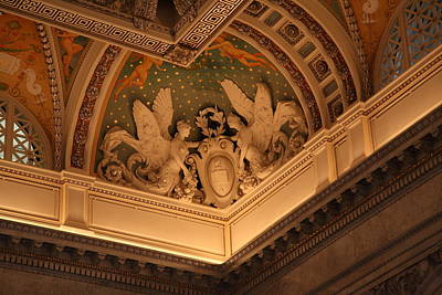 Window Photograph - Library Of Congress - Washington Dc - 011316 by DC Photographer