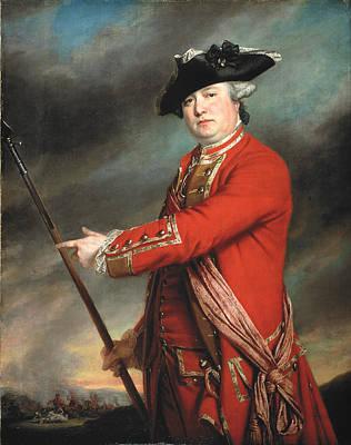 Lieutenant Colonel Francis Smith 1764 Print by Francis Cotes