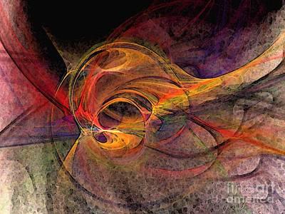 Graceful Digital Art - Life Cycle by Karin Kuhlmann