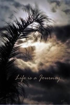 Life Is A Journey Print by Gerlinde Keating - Galleria GK Keating Associates Inc