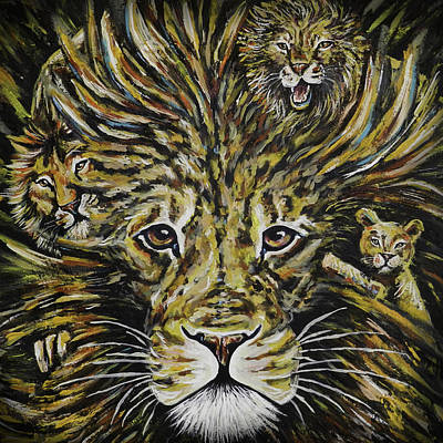 Pride Painting - Life Of Leo by Lovejoy Creations