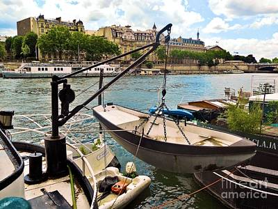 Life On The Seine Print by Lauren Leigh Hunter Fine Art Photography