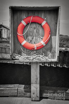 Ropes Photograph - Life Saver by Elena Elisseeva