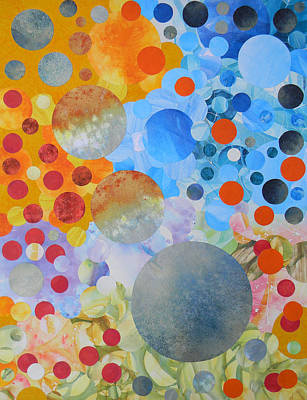Painting - Life The Universe And Everything by Adel Nemeth