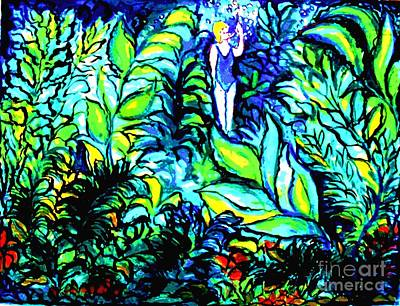 Water Filter Painting - Life Without Filters by Hazel Holland