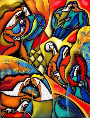 Enjoyment Painting - Lifestyle by Leon Zernitsky