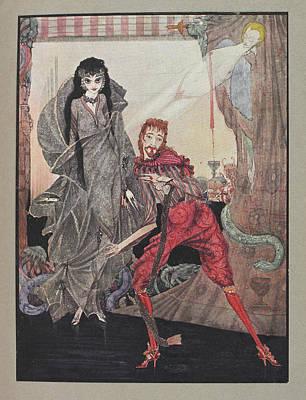 Edgar Allan Poe Photograph - Ligeia by British Library