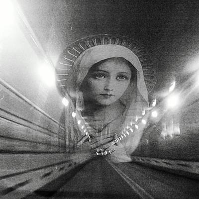 Light At The End Of The Tunnel #2 Original by Tina Mancusi
