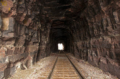 Daysray Photograph - Light At The End Of The Tunnel by Fran Riley