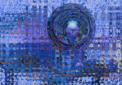 Waste Digital Art - Light At The End Of The Tunnel by Jack Zulli