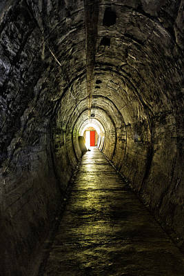 Light At The End Of The Tunnel Print by Russ Dixon