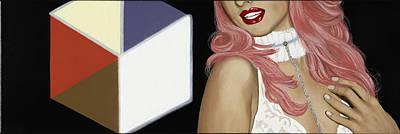 Choker Painting - Light Box by Marcella Lassen
