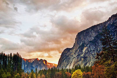 Yosemite Photograph - Light Falls by Aron Kearney