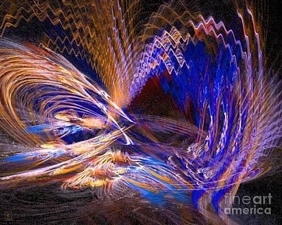 Artport Digital Art - Light Flair 1 by Jeanne Liander