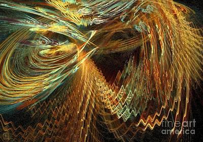 Artport Digital Art - Light Flair 2 by Jeanne Liander