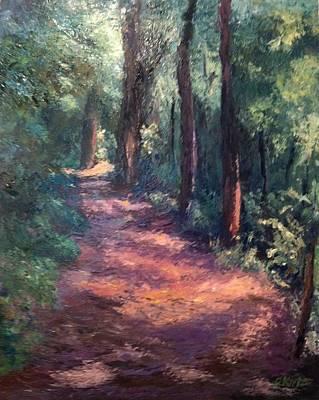 Light For My Path Print by Gail Kirtz