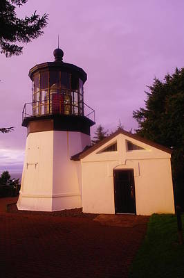 Relic Glass Photograph - Light House by Jeff Swan